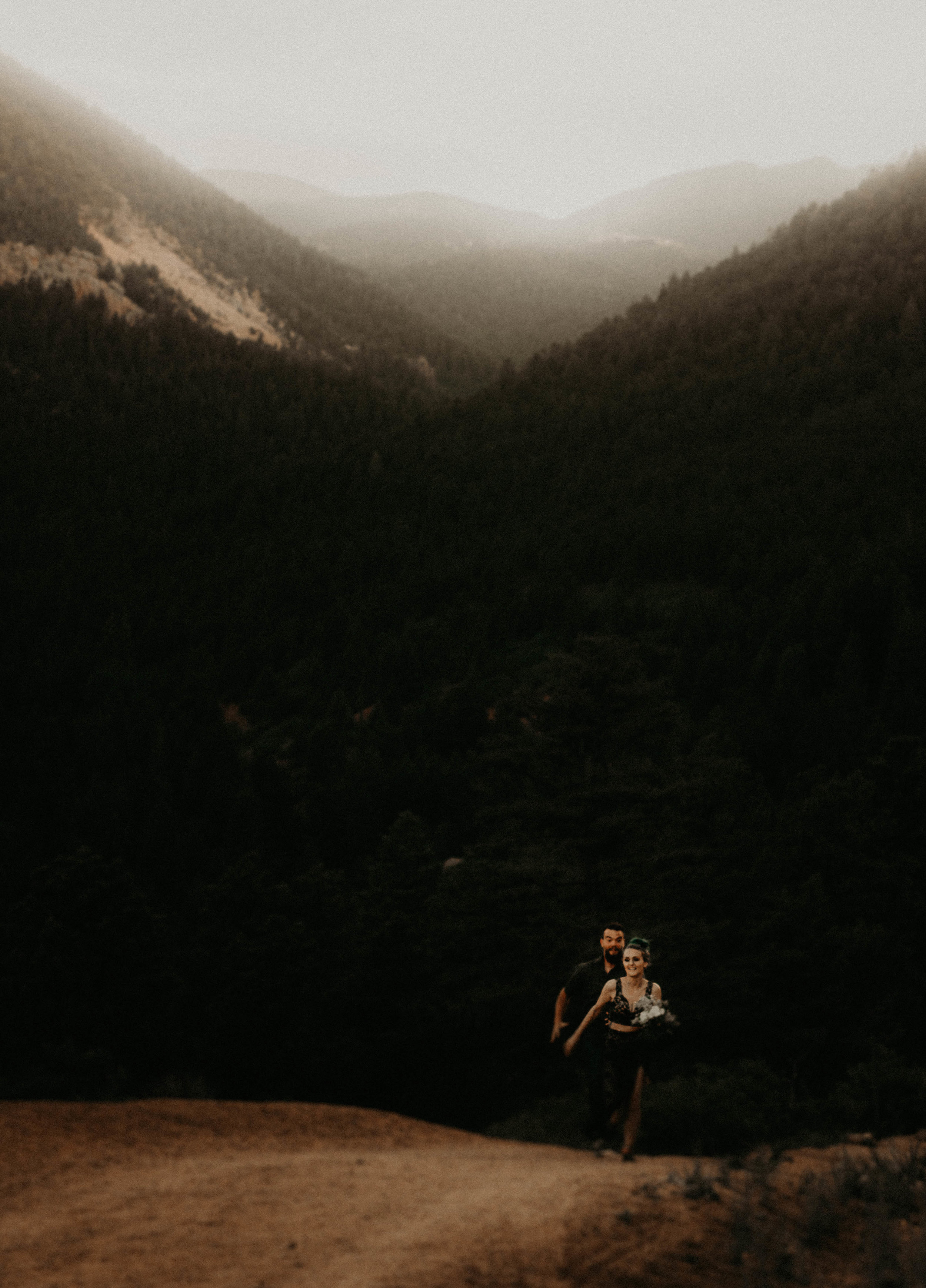 Mountaintop Lovers by Photography by Kaila Mae
