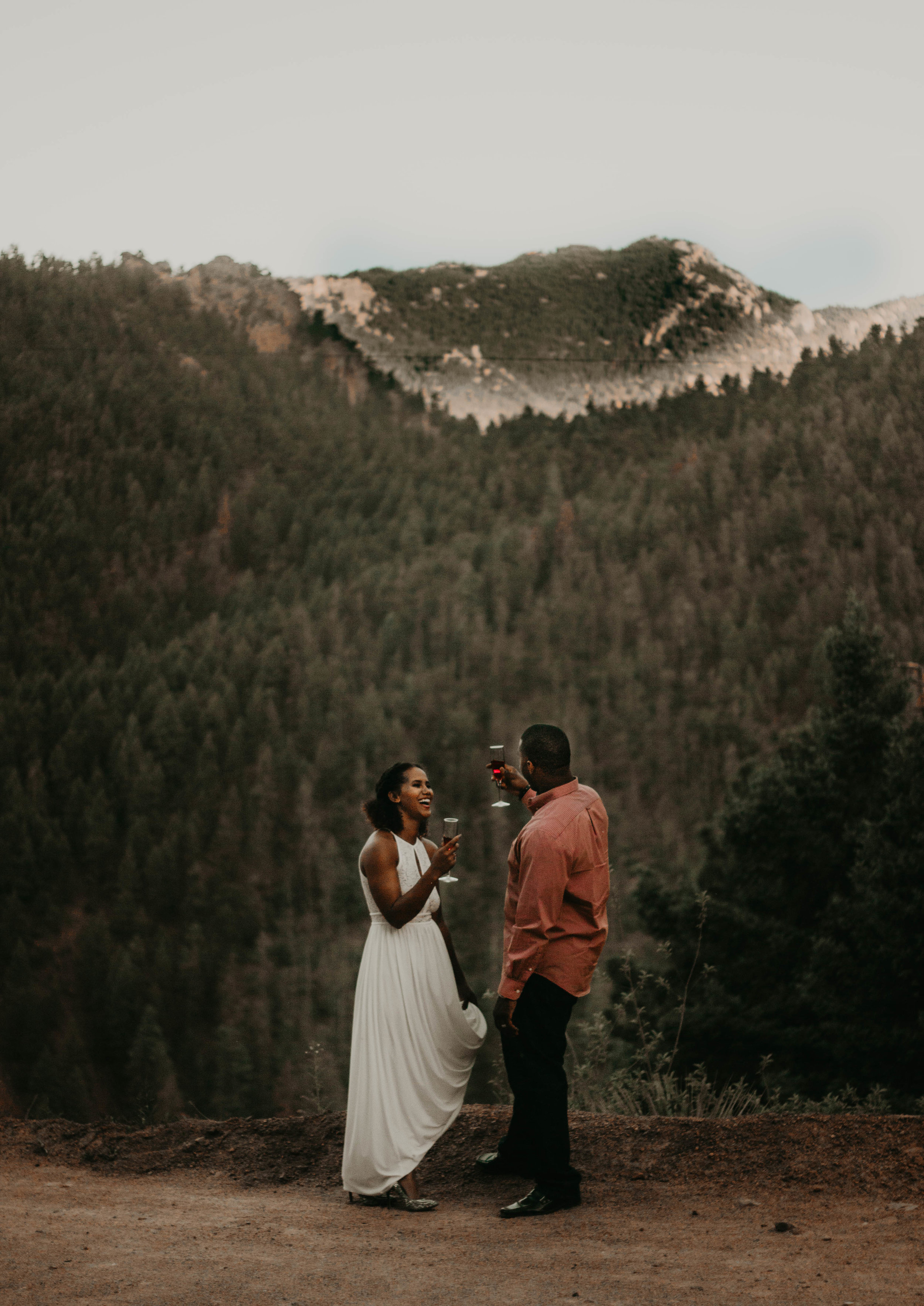 Lovers on Gold Camp Road- Photography by Kaila Mae