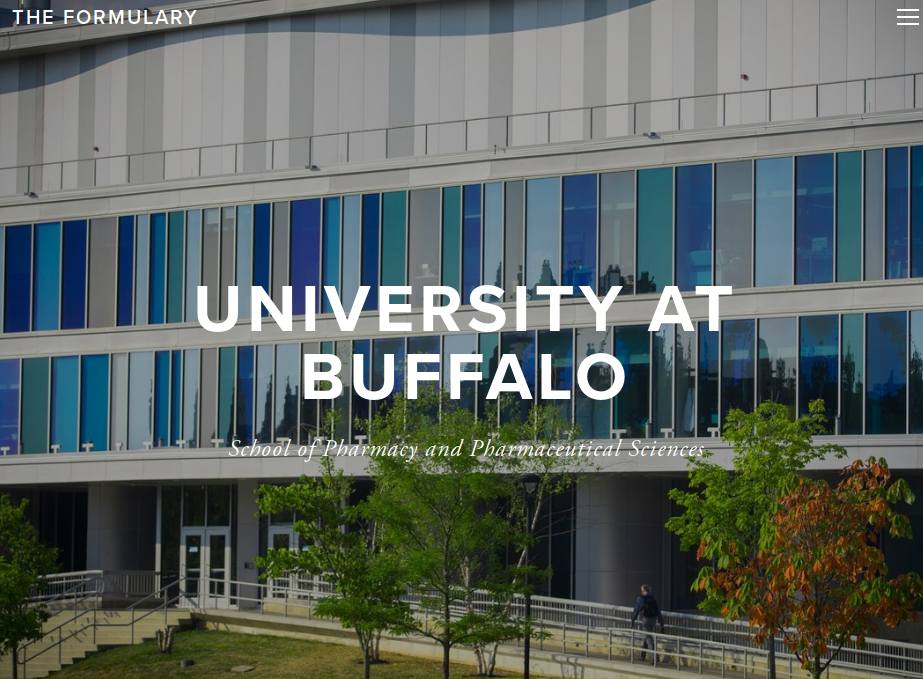 - The views and opinions expressed on this website are those of the authors and do not necessarily reflect the official policy or position of the University at Buffalo School of Pharmacy and Pharmaceutical Sciences
