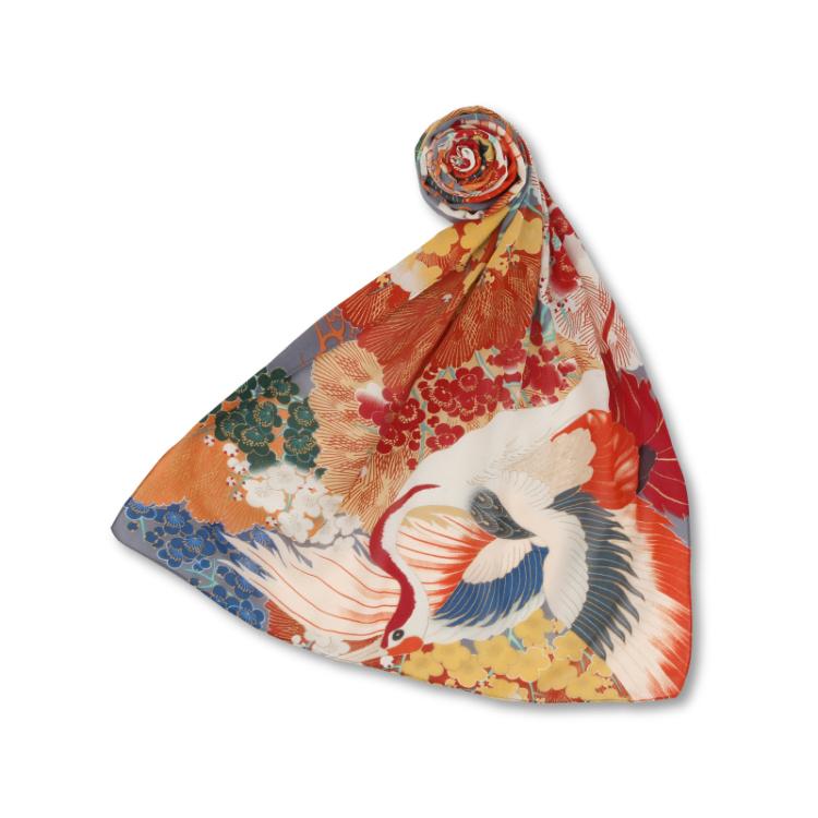 Silk Scarf - Dyeing by Kyo-YuzenSince 1919