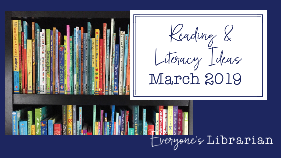 Reading and Literacy Ideas: March Calendar — Everyone's