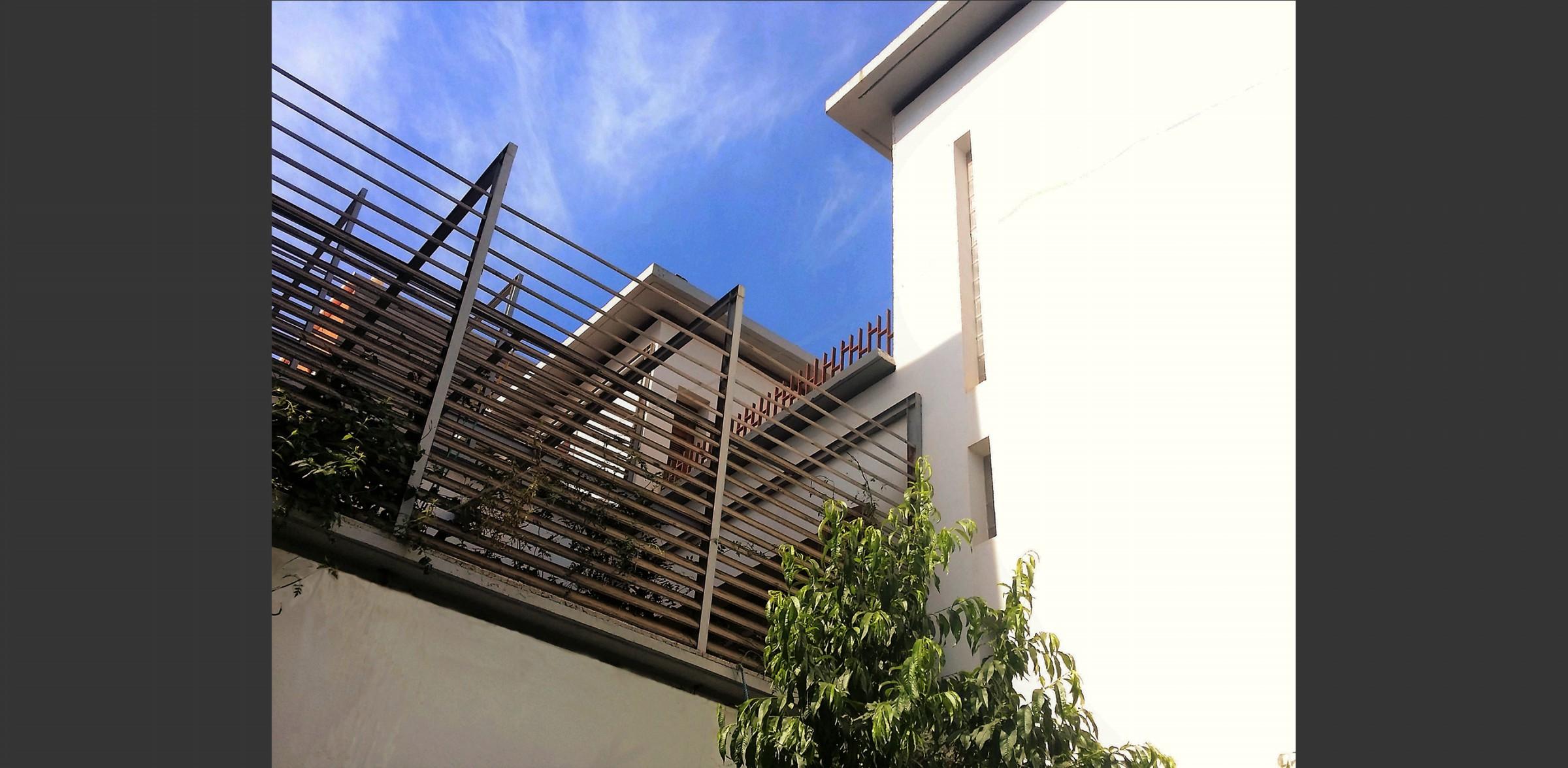 Patio Maison à quatre patios, Atelier Messaoudi architecture aménagement et design. Bureau d'étude Algérie.