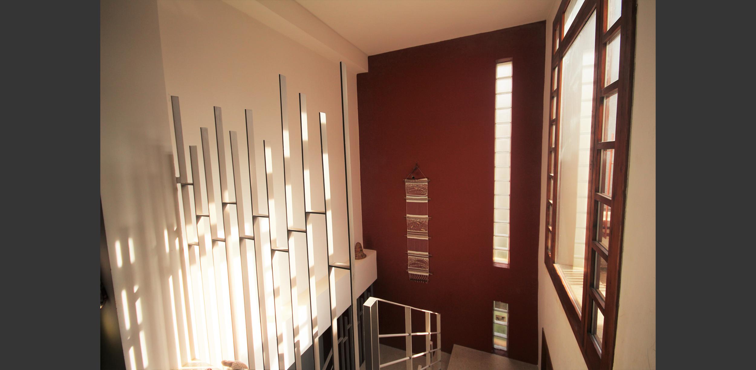Garde corps Maison à quatre patios Kolea, Atelier Messaoudi architecture aménagement et design. Bureau d'étude Algérie.