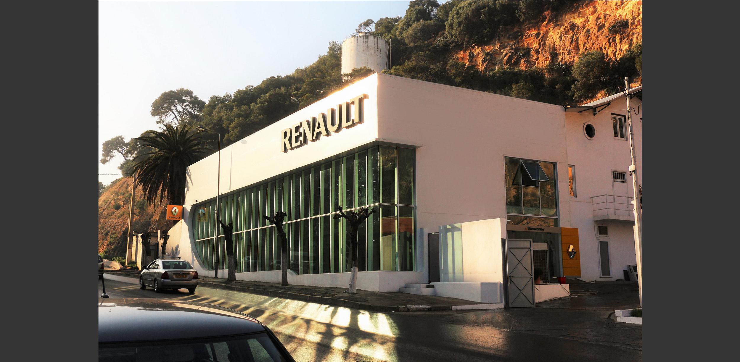 Showroom automobile à Alger, Atelier Messaoudi architecture aménagement et design. Bureau d'étude Algérie.