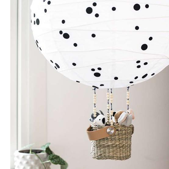 And who doesn't like a bit of #ikeahack?  #kidsroom #kidsroomdecor #professionalorganizer #ikeahacks #ikeakids #lamps  #nurserydecor #nurseryinspo #bedroomgoals #cute