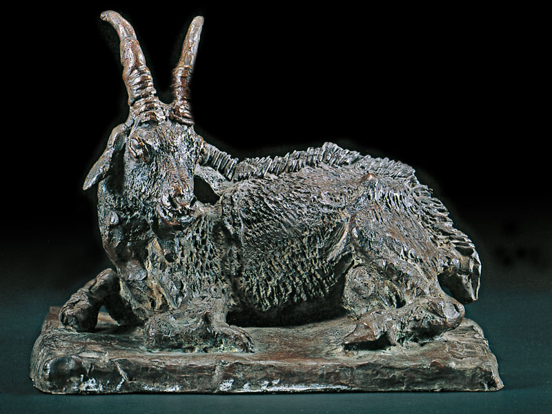 GOAT BRONZE, 30x24,4x19,5 CM – EDITION: 12 NUMBERED COPIES