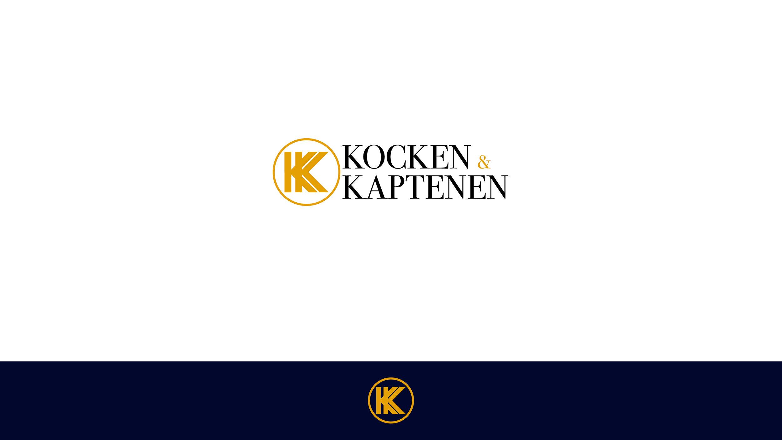 Kocken & Kaptenen: Grafisk identitet
