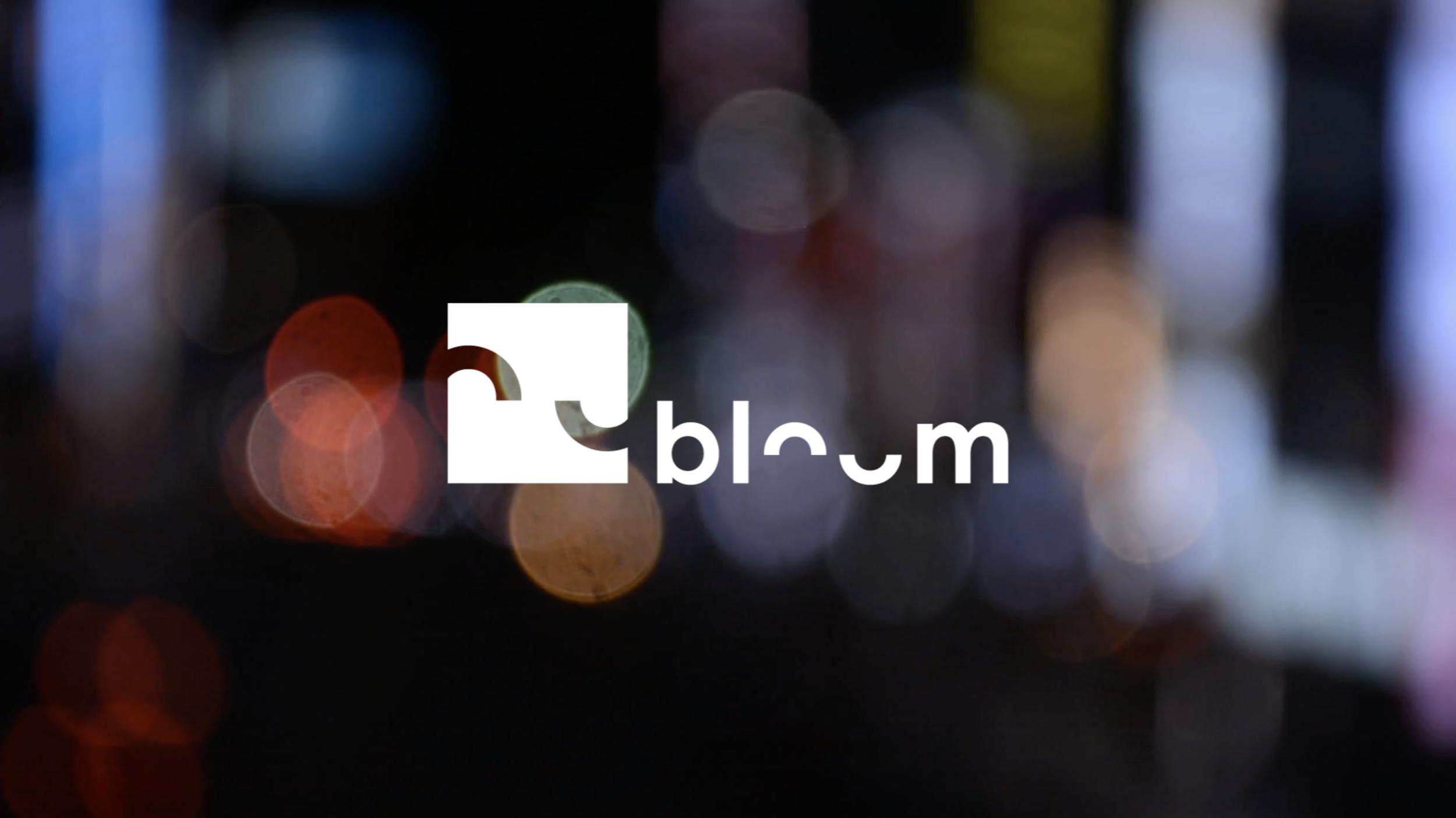 Grafisk identitet: Talangprogrammet Bloom
