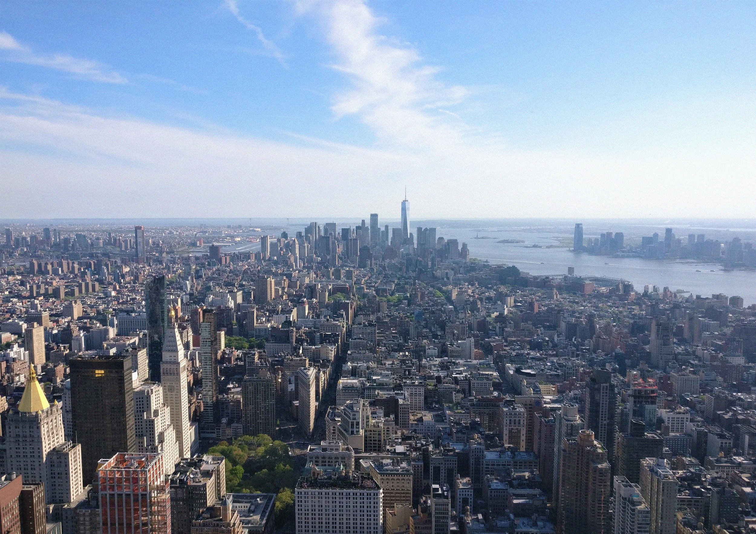 On top of Empire State Building