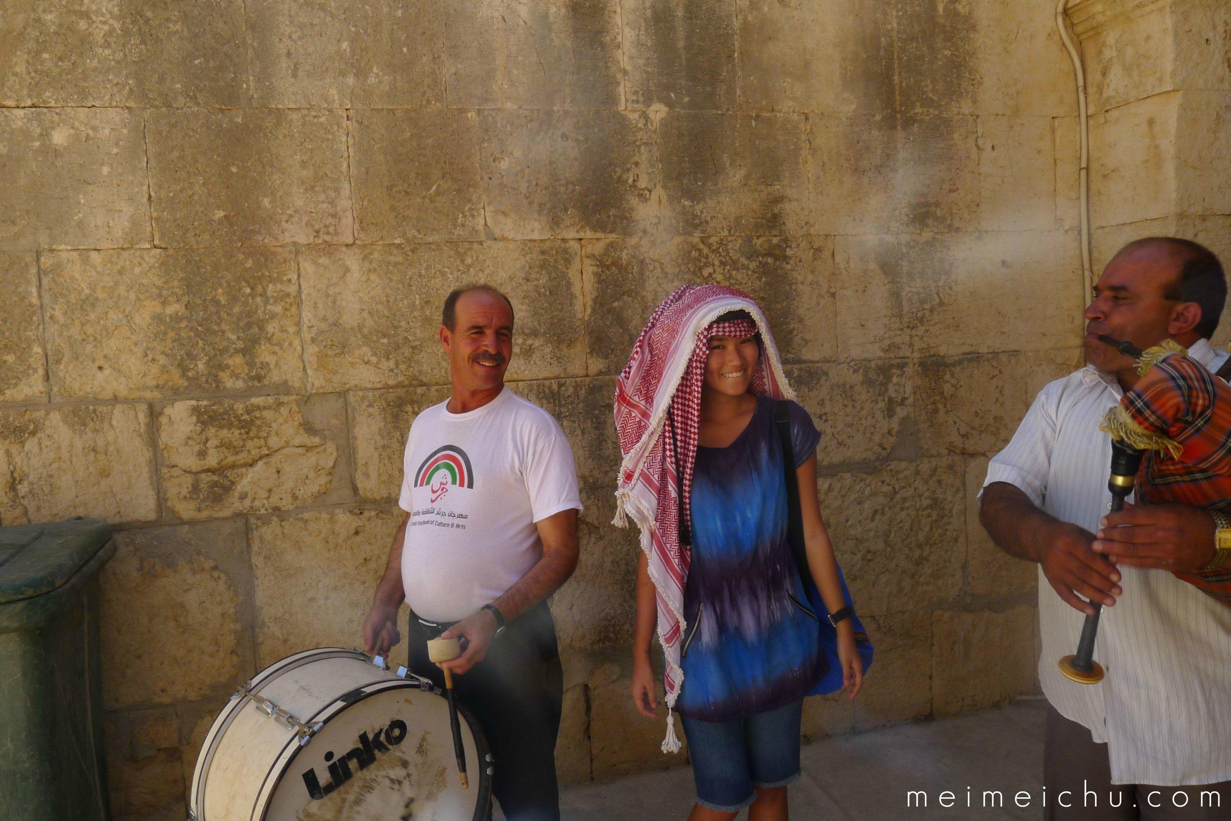 Exploring the ancient city of Jerash in Jordan