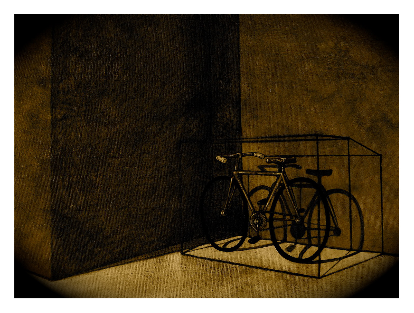 """Resting bicycle"""
