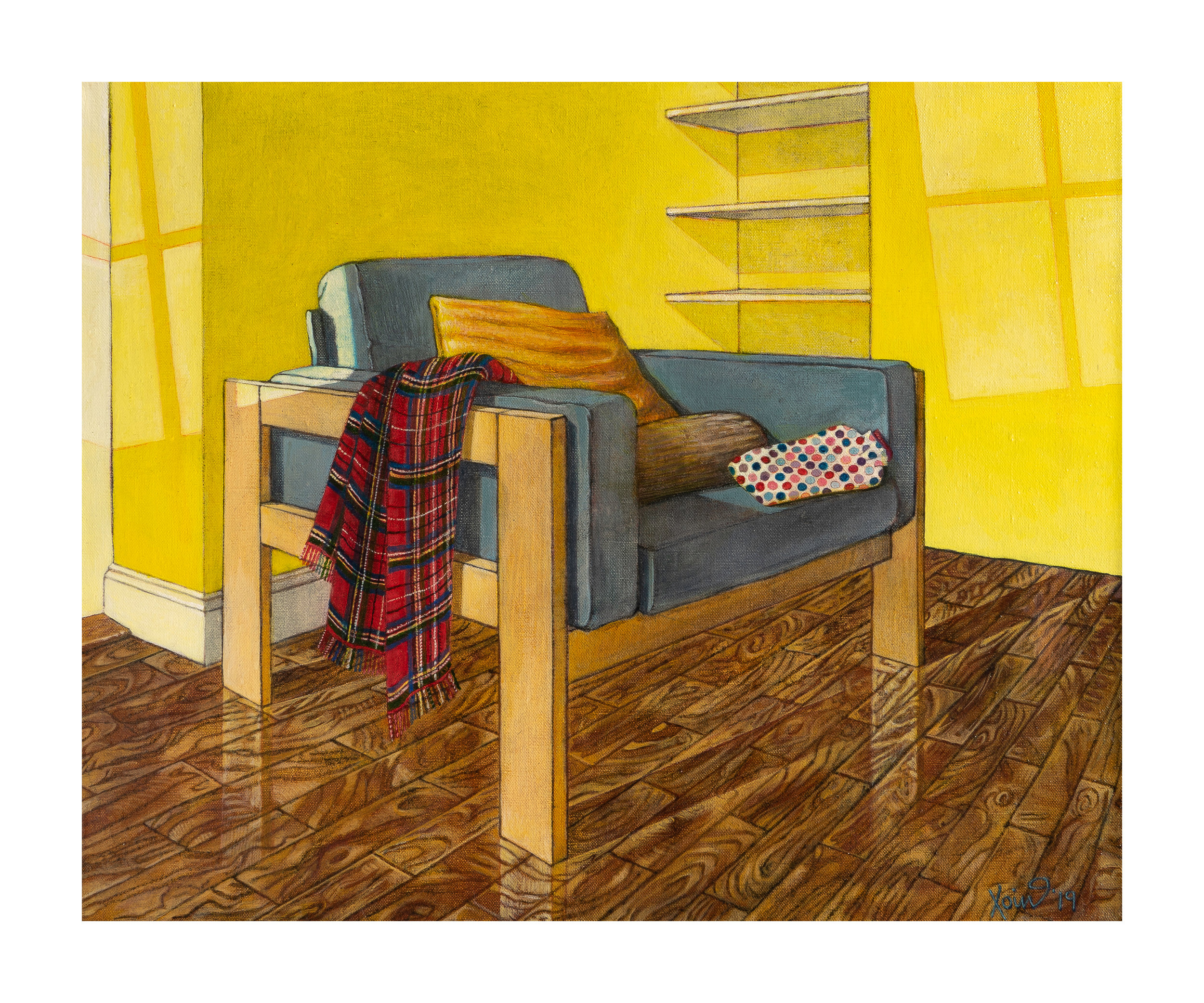 """Armchair in sunlight"""