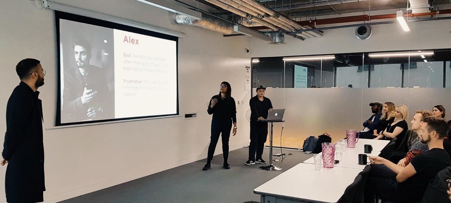 Client presentation day.
