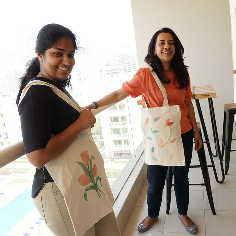 Ann and divya balcony.jpg