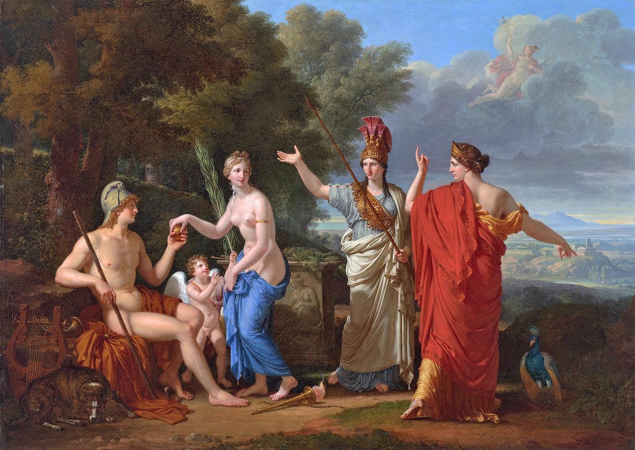 """François Xavier Pascal Fabre """"Judgement of Paris"""""""