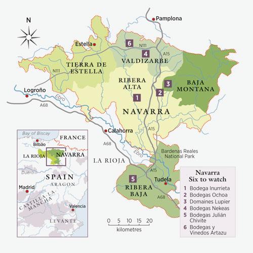 Navarra wine region. Image courtesy of Decanter Magazine.