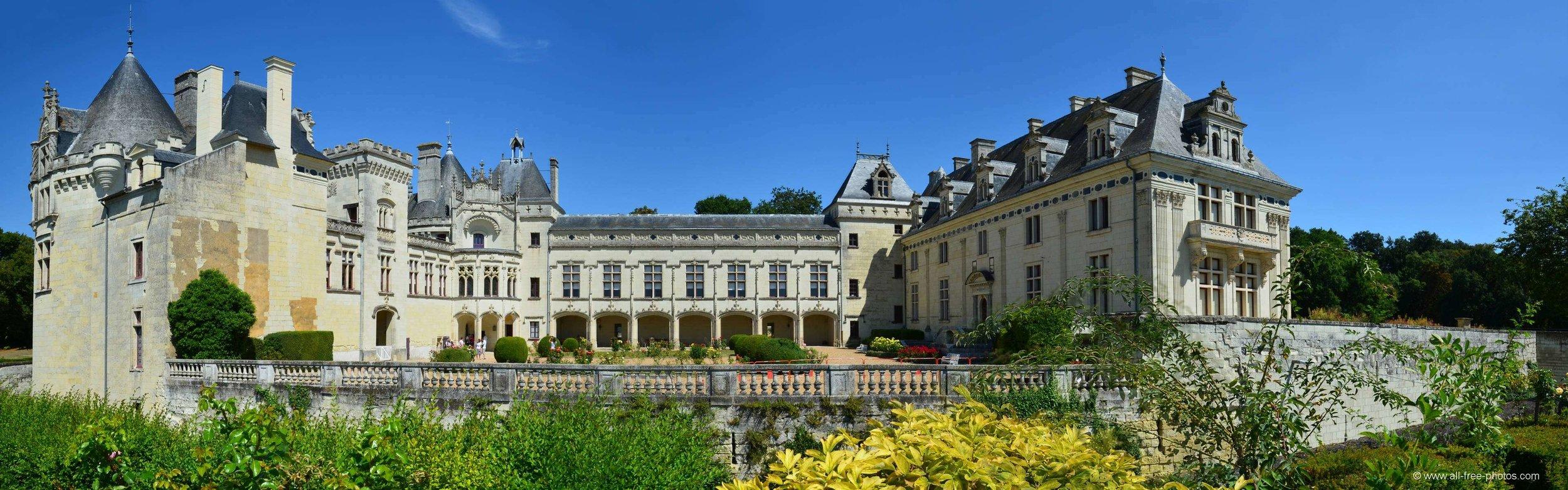 The majesty of Chateau de Breze