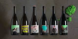 The amazing label art of the Cruse Wine Co line