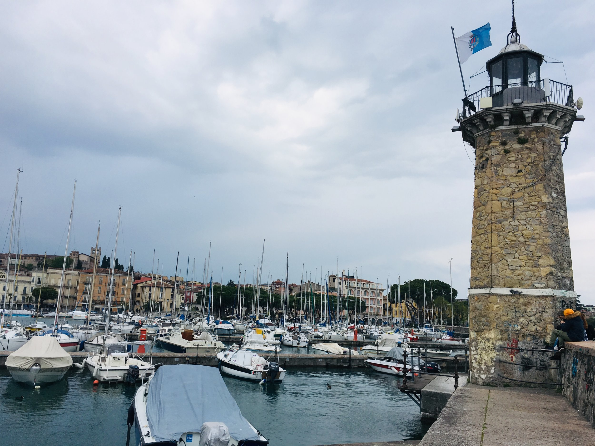 The jetty at Desenzano