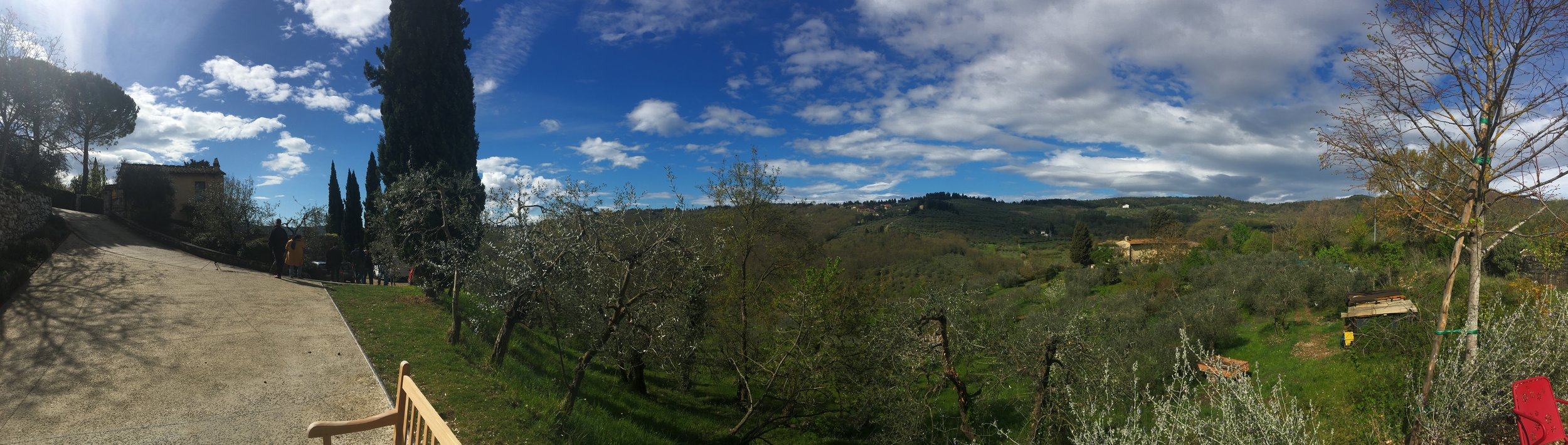 The Poggo la Noce estate in Fiesole