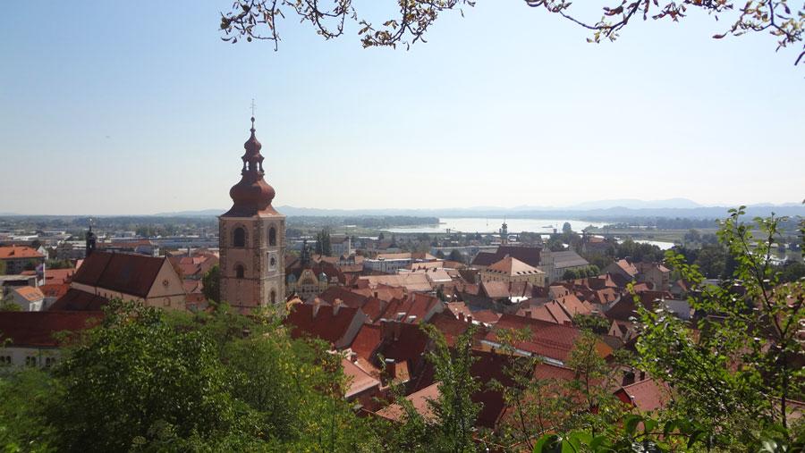 Ptuj, Slovenia most ancient town