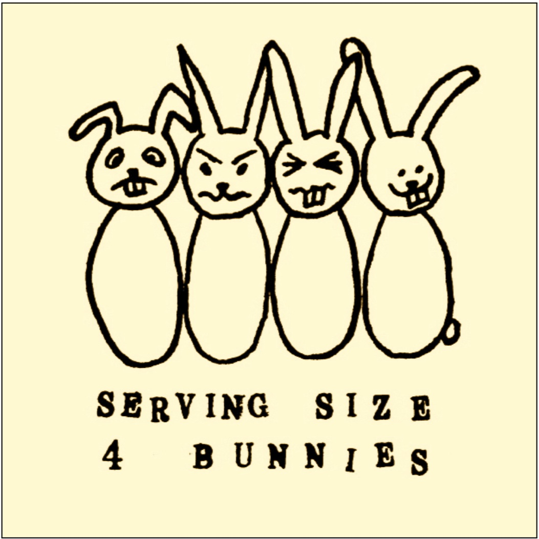 Serving Size 4 Bunnies - Carl SchimmelLine C3
