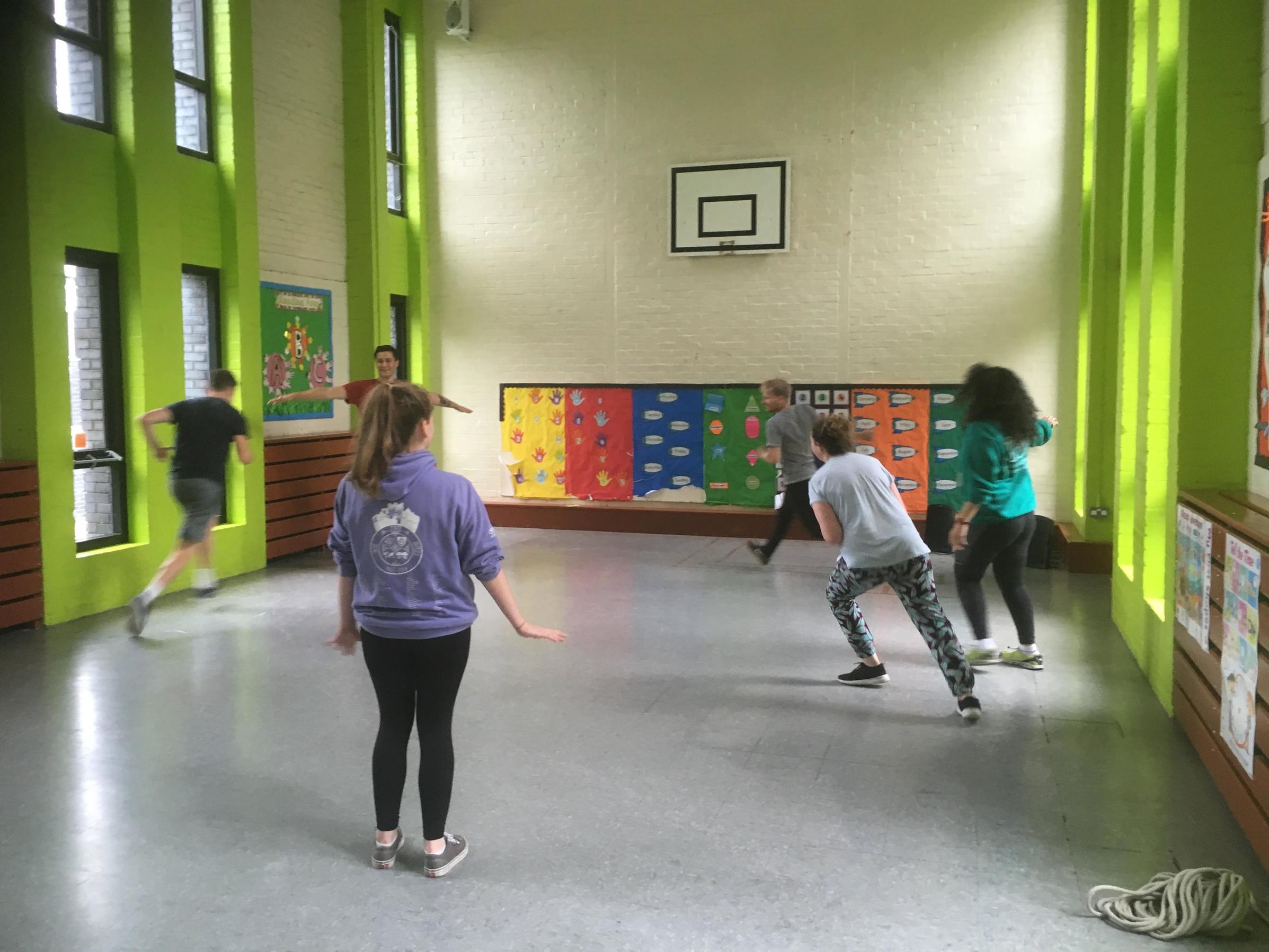 Practising games during training week