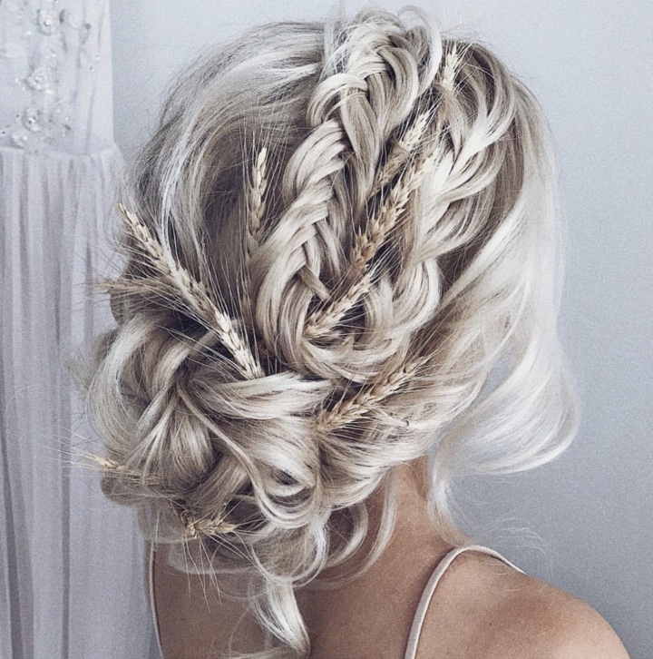 STORMY - As her go-to source for bridal hair inspiration, Stormy loves the soft, elegant styles of @ulyana.aster. Like Ulyana, Stormy enjoys using extensions and hairpieces to create the perfect bridal look.