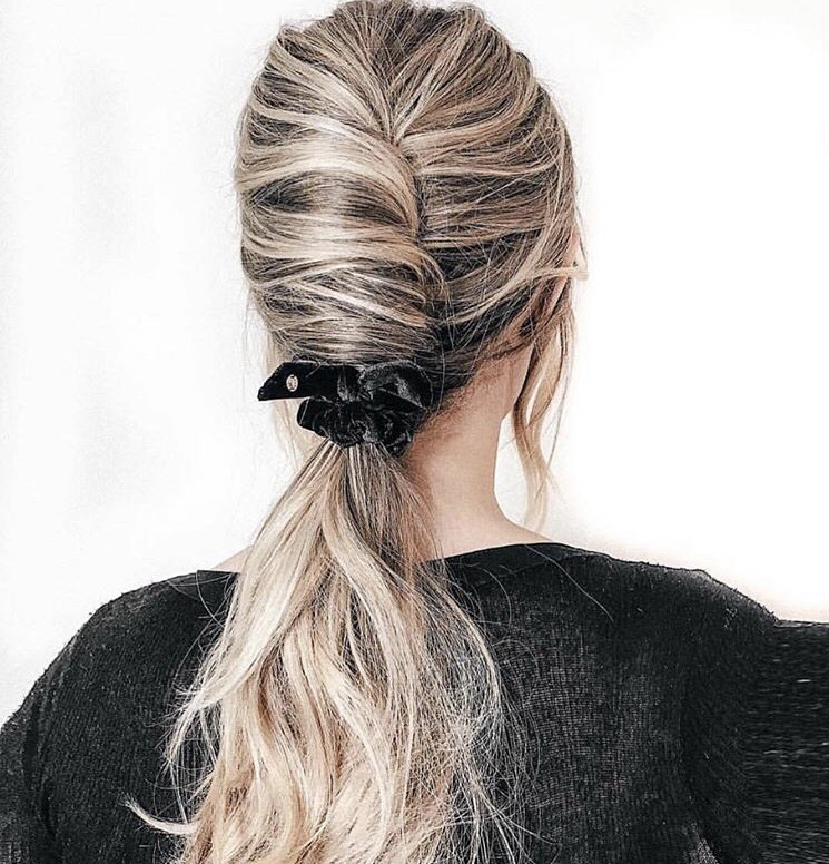 BROOKE - Inspired by French actress, Bridget Bardot, Brooke loves this modern take on the classic French twist - a feminine touch to any bridal look. *Inspiration hair @kathleen_hair