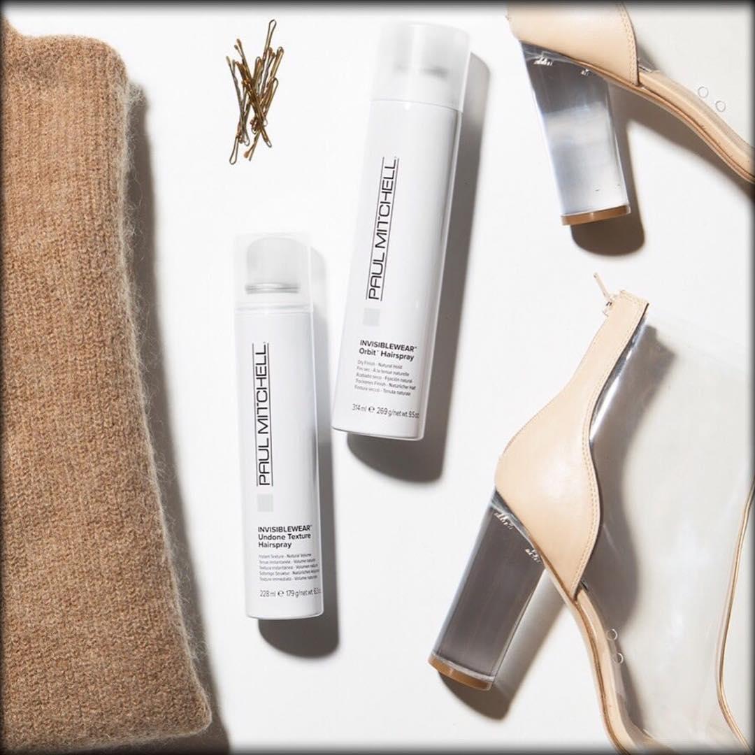 Invisiblewear Undone Texture Hairspray