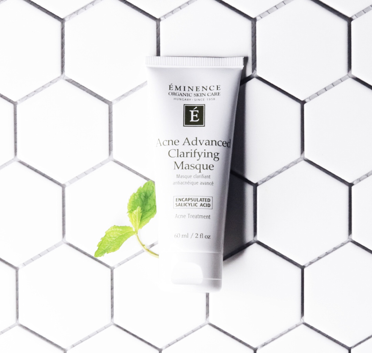 Step 2: Treat - Acne Advanced Clarifying Masque serves as a masque AND spot treatment to treat active acne and prevent future breakouts.