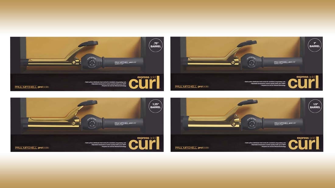 Express Gold Curling Iron
