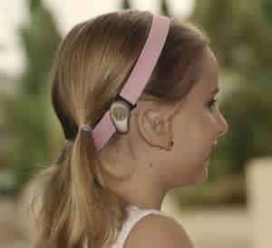 Softband bone conduction hearing aid -