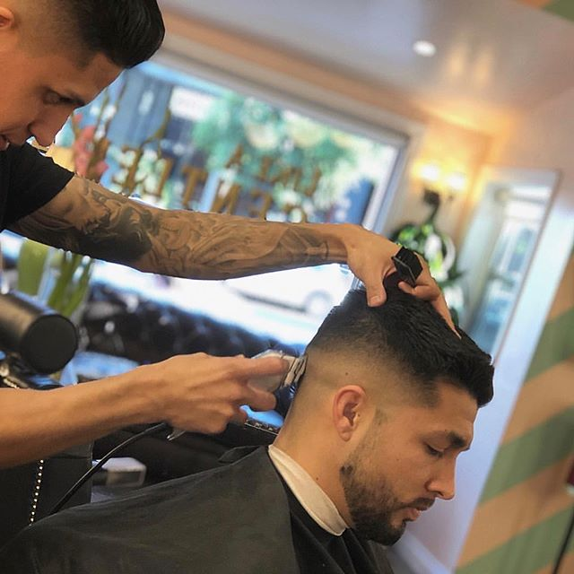 LAG would like to introduce & welcome our newest barbers to the team, Ray Perez & Jay Hernandez... @raymondthebarber @jay_hernandez  Call the shop to lock in your appt 424.335.0553  #LikeAGentleman #RayJay #YoungBulls