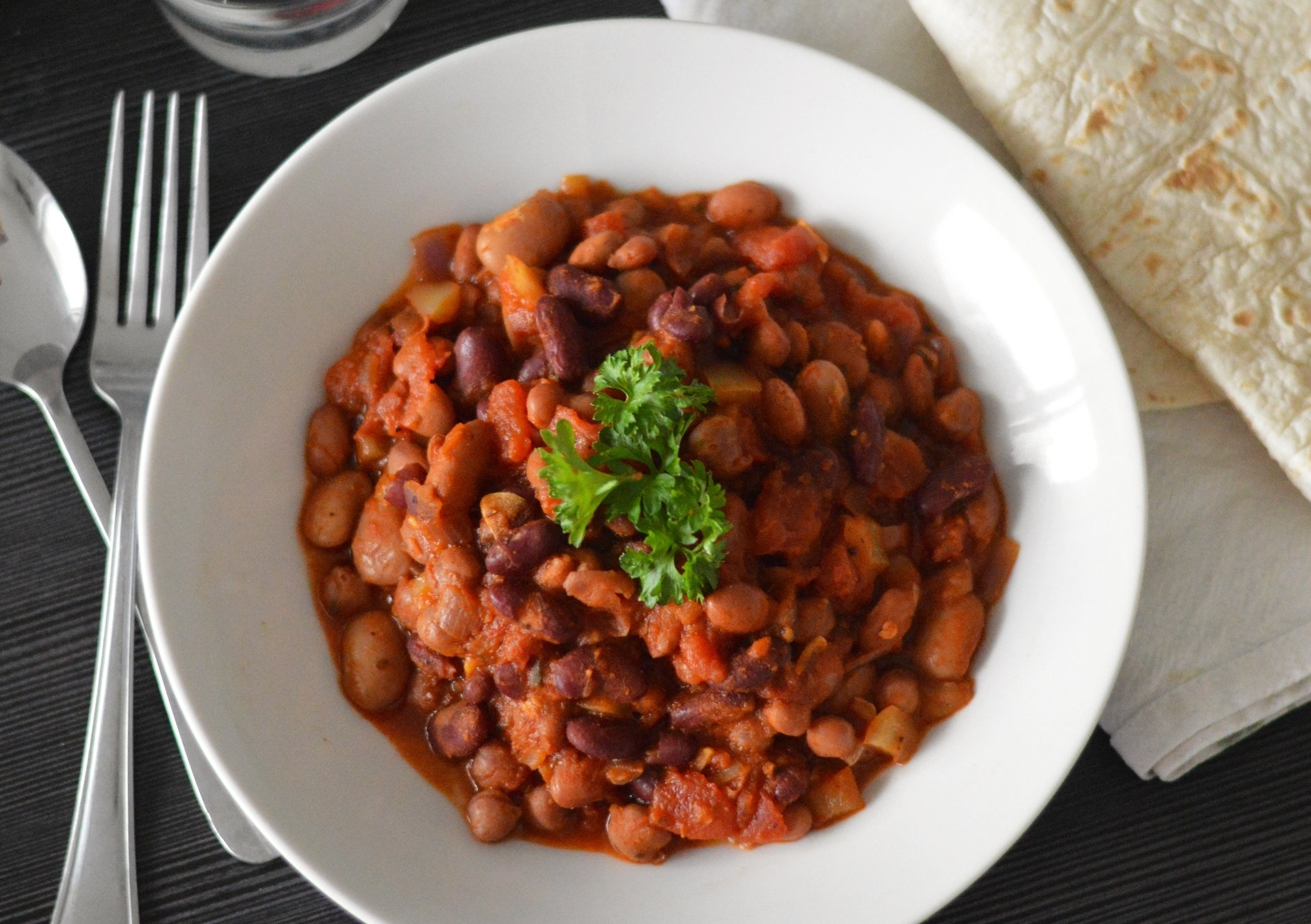 Mixed Bean Chilli