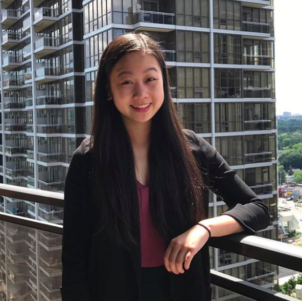 Angelina Zhang - Will Attend WIDPSC 2019 in Toronto, Canada