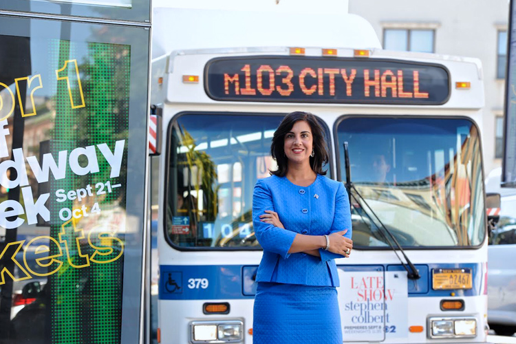 Incumbent Bill De Blasio Secures Re-Election in Fierce Race for New York City Mayor - Written by Malick Mercier. Edited by Ithaca College Professor, Raza Rumi.Interview with NYC Mayoral Candidates, Nicole Malliotakis (R) and Akeem Browder (GR). Photo Courtesy: Nicole for NYC - https://nicolemalliotakis.com/photos/