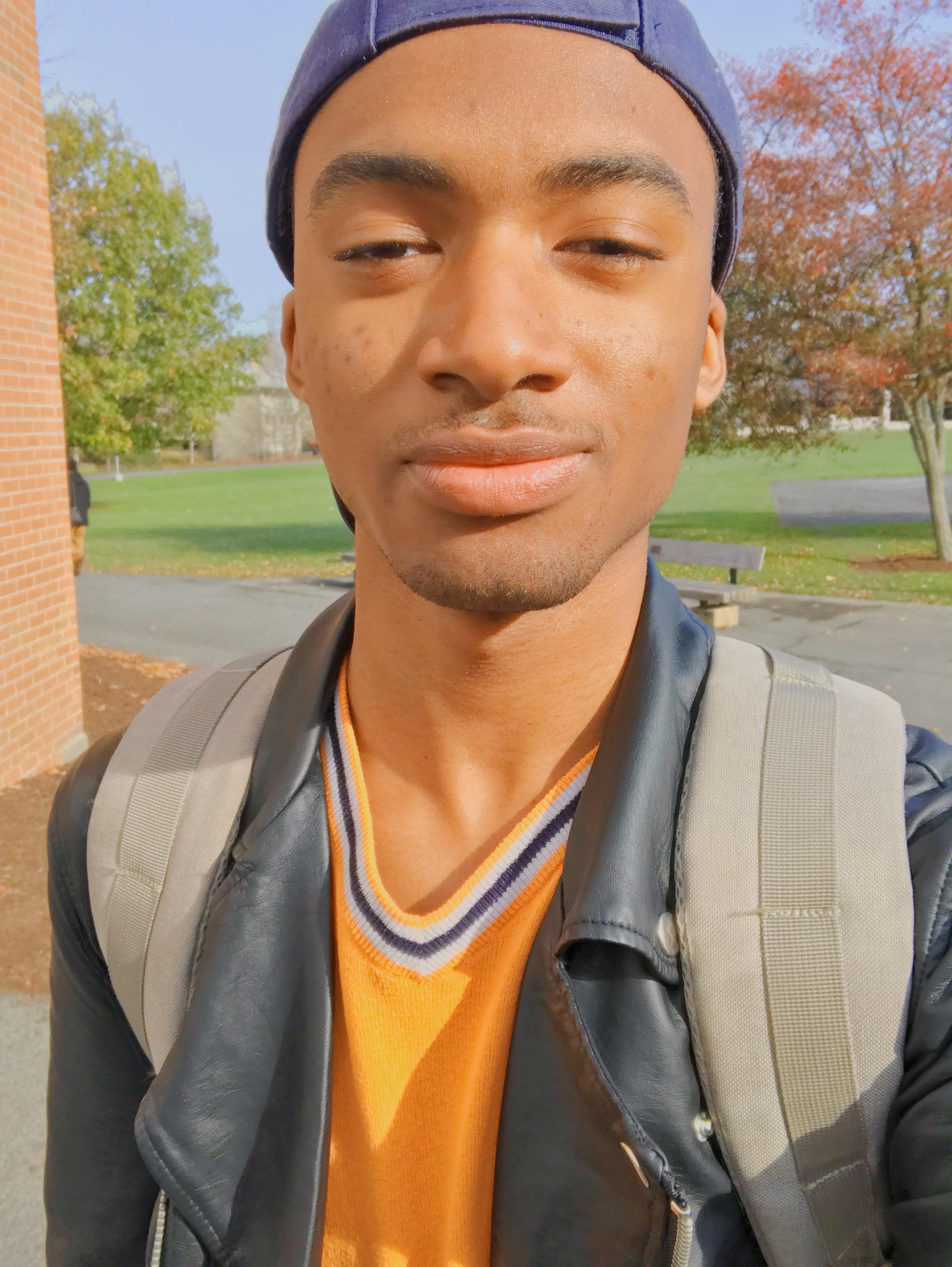 Selfie at Ithaca College