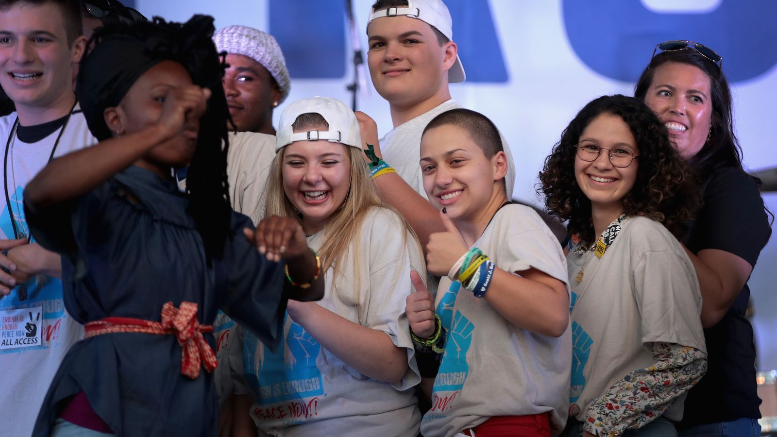 Chicago residents, Parkland Students join forces in Summer of Peace march against gun violence -