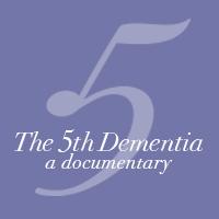 5th Dementia square icon logo