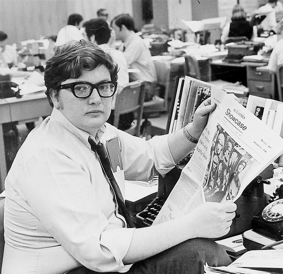 roger ebert was no stranger to a busy workplace