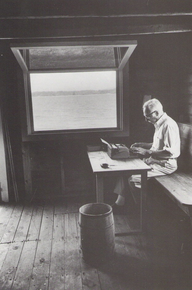 E.B. White Photo by Jill Krementz