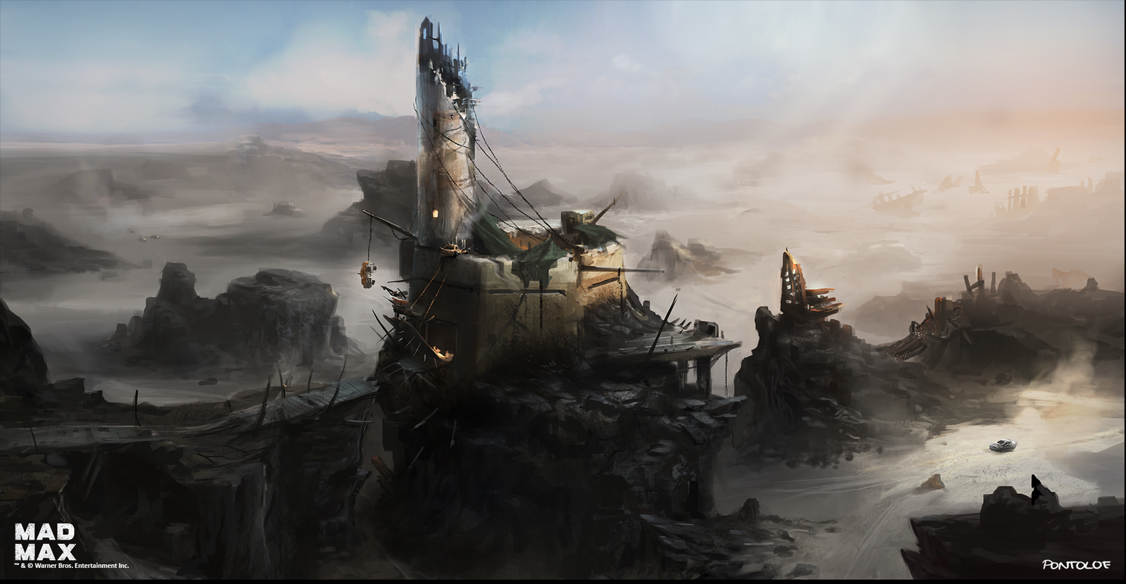Mad Max game -concept art