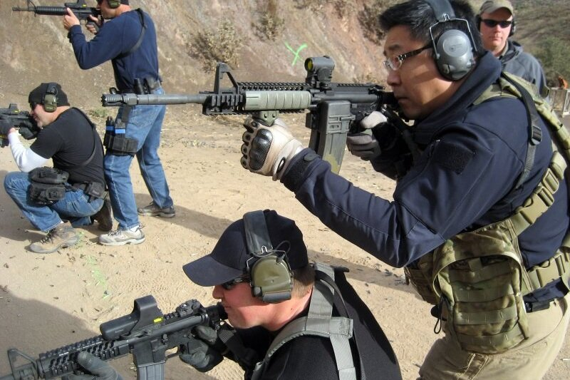 COMBAT SHOOTING COURSE FOR MILITARY AND LAW ENFORCEMENT