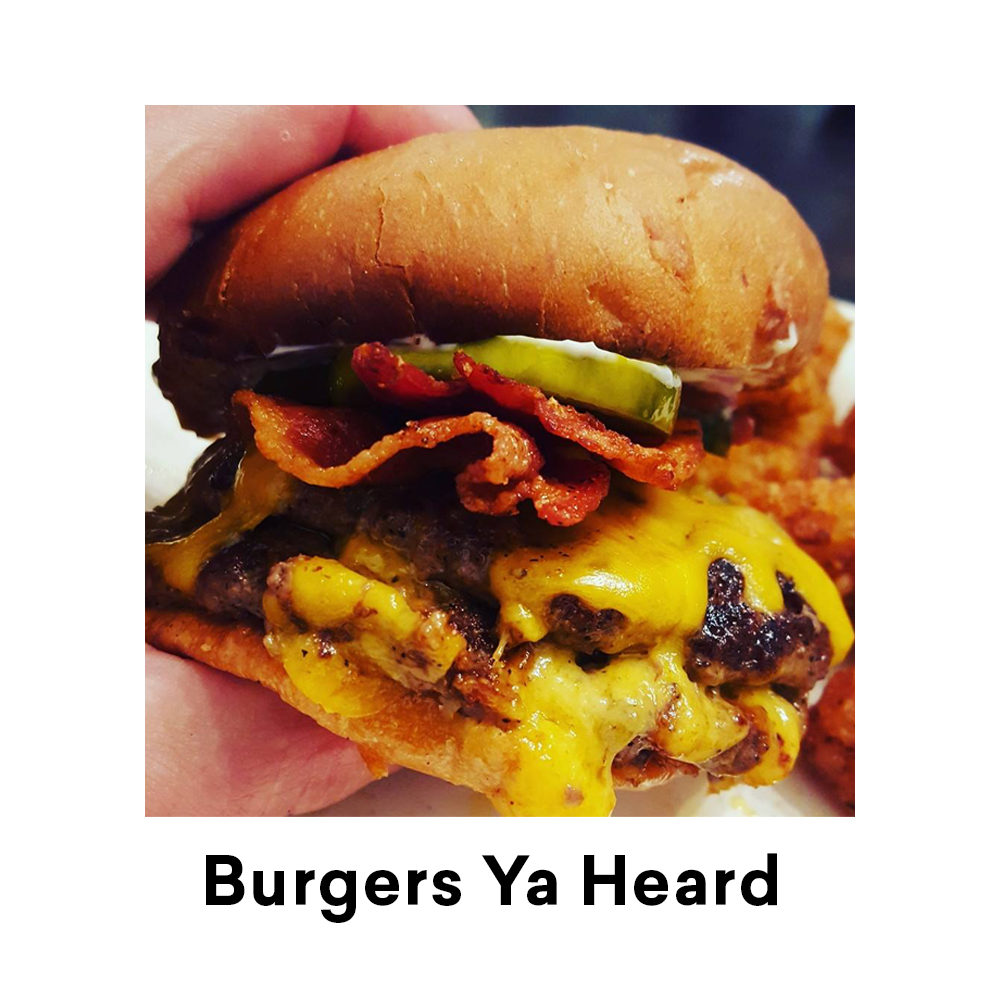 Burgers Ya Heard New Orleans for Louisiana Street Food Festival