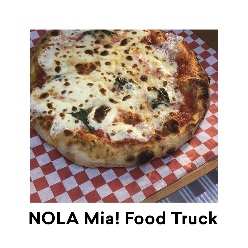 NOLA Mia! Food Truck for Louisiana Street Food Festival