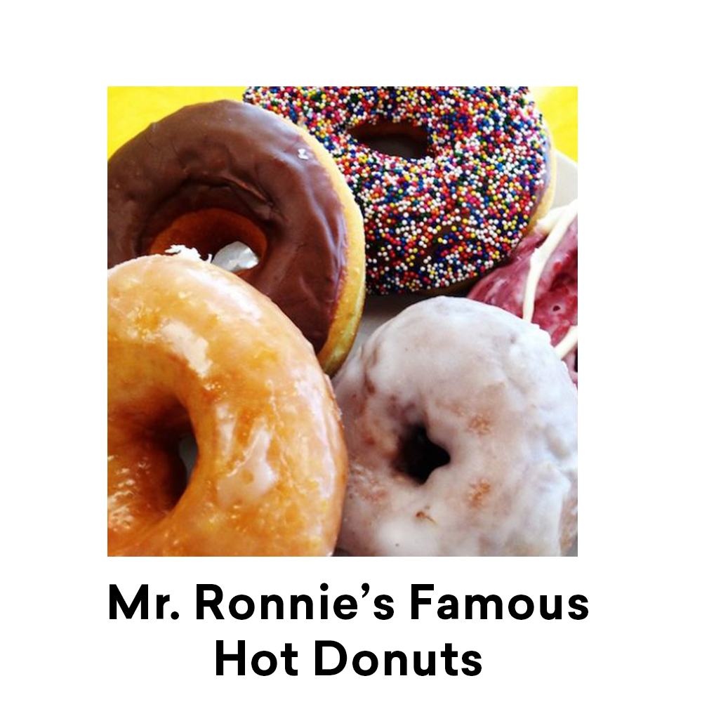 Mr. Ronnie's Famous Hot Donuts Baton Rouge for Louisiana Street Food Festival