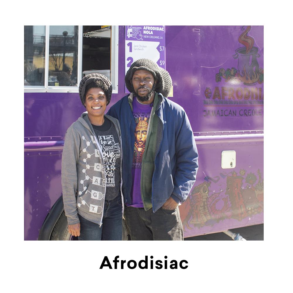 Afrodisiac for Louisiana Street Food Festival