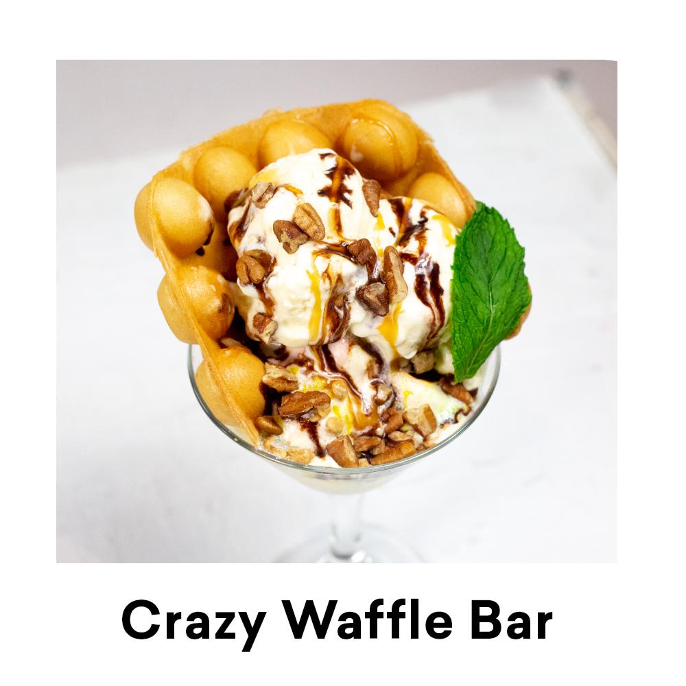 Crazy Waffle Bar for Louisiana Street Food Festival
