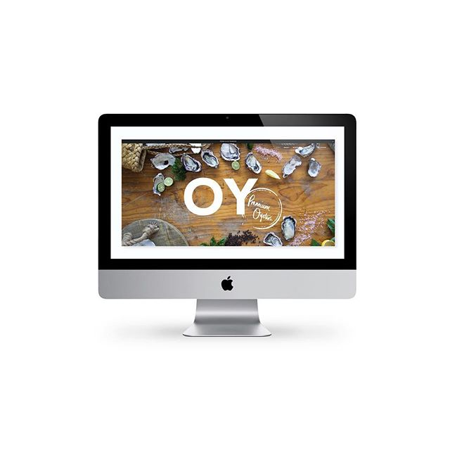 Brand and site for @oyisforoyster